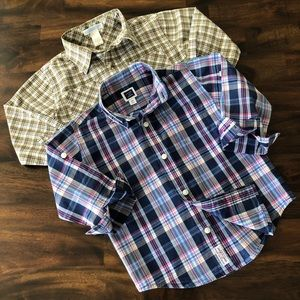 Janie and Jack Button Down Shirts